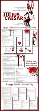 julius caesar act comic strip for note taking active reading julius caesar visually stunning study guide worksheets for shakespeare s play