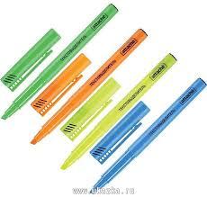 "<b>Attache Маркер выделитель</b> текста ""<b>Attache</b>"" <b>набор</b> 4 цвета, 1-3 мм"