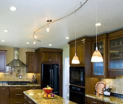 kitchen track lighting with curved track ceiling track lighting