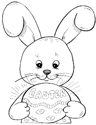 Small Picture Easter Bunny And Basket Coloring Pages GetColoringPagescom