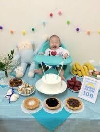 Pin by Rose on 백일 | 100 day celebration, Korean birthday, Baby ...
