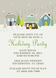 custom holiday houses christmas party invitation winter snow items similar to custom holiday houses christmas party invitation winter snow snowman lights neighborhood block potluck dinner party printable