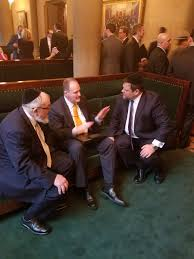 agudath news on strategic discussion on education agudath news on strategic discussion on education advocacy jim cultrara chaskelbennett rabbi shmuel lefkowitz outside senate