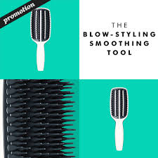Step by step using The <b>Blow</b>-<b>Styling</b> Smoothing Tool by <b>Tangle Teezer</b>