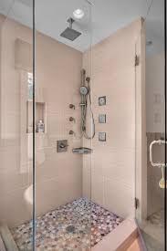 porcelain shower tile bathroom contemporary with alcove beige cubby glass bathroom contemporary bathroom lighting porcelain