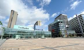 new home senior bbc staff have unveiled their new mediacityuk home in salford but bbc sydney offices office