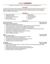 marine electrician resume format cipanewsletter best electrician resume ilivearticles info