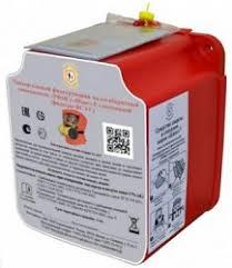 <b>Самоспасатель ШАНС-Е с полумаской</b> в футляре-контейнере ...