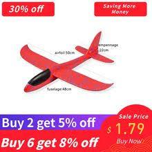 SAILEROAD Foam Aeroplane DIY Kids Toys <b>Hand</b> Throw Flying ...