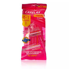 Женский <b>одноразовый станок Carelax</b> Comfort 5шт купить со ...