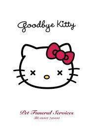 Hello Kitty - Goodbye Kitty | On The Weird Side via Relatably.com
