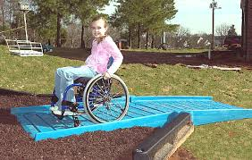 pic of playground equipment for wheelchairs