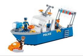 <b>Конструктор COBI Полицейский</b> патрульный катер COBI-1577 ...