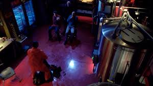 this overhead shot from season 4 demonstrates the contrast y light slovis occasionally uses inside breaking lighting set