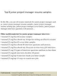 topjuniorprojectmanagerresumesamples conversion gate thumbnail jpg cb
