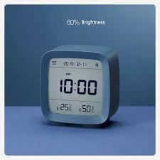 Youpin <b>Cleargrass Bluetooth Alarm Clock</b> Temperature Humidity ...