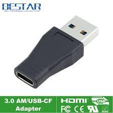 <b>USB C USB 3.1 Type</b> C <b>Female</b> To USB 3.0 Male Adapter ...