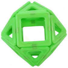 "<b>Конструктор 3D Shantou Gepai</b> ""Magnetic"" 14 элементов JH6897 ..."
