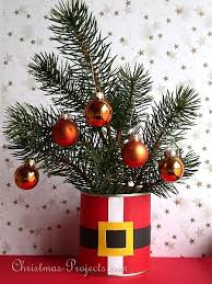 Christmas Recycling Craft Using a Can - Santa Coat Flower <b>Pot Cover</b>
