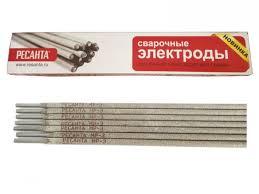 Сварочный <b>электрод РЕСАНТА МР-3 Ф2</b>,<b>5</b> Пачка 1 кг - купить в г ...