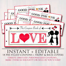 love coupons editable love coupon book instant printable love coupons r tic gift for him sexy valentine s gift spouse husband boyfriend
