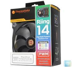 Обзор <b>вентиляторов Thermaltake Riing</b> 14 LED RGB — i2HARD