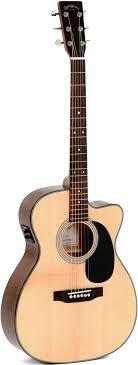 Акустическая <b>гитара Sigma Guitars</b> 000MC-1STE ...