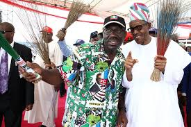 Image result for buhari and edo state rally