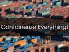 Images & Illustrations of containerize