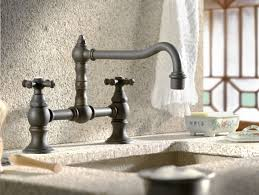 country kitchen column spout: cifial highlands hi rise exposed pillar kitchen faucet