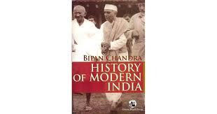 <b>History of Modern India</b> by Bipan Chandra