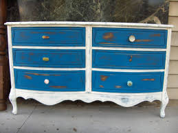 french country shabby chic inspired dresser with knob variety blue white blue shabby chic furniture