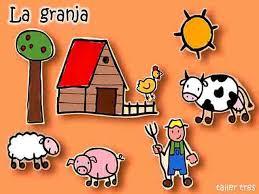 Resultado de imagen de dibujo granja escuela