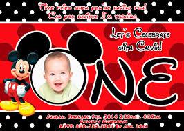 mickey mouse birthday invitation ctsfashion com mickey mouse birthday invitations partyexpressinvitations