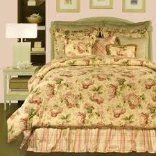 bed comforter sets king rose tree