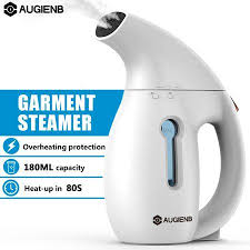 <b>Clothes Steamer</b> , Augienb 60S Fast Steame Portable Wrinkle ...