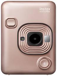 <b>Фотоаппарат Fujifilm INSTAX MINI</b> LIPLAY BLUSH GOLD Fujifilm ...