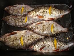 Рыба запеченная целиком рецепт