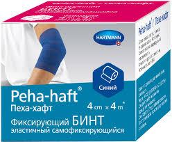 <b>Бинт</b> медицинский <b>Peha</b>-<b>Haft</b> Самофиксирующийся <b>бинт</b>, <b>4 м</b> х 4 ...