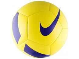 Купить <b>мяч футбольный NIKE Pitch</b> Team р.5, желтый по цене от ...