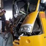 Noida: 16 students injured as school bus rams into divider near Rajnigandha Chowk; driver, conductor critical