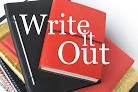 Images & Illustrations of write out