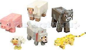 <b>Minecraft Игровой набор</b> Животные 6 предметов - Акушерство.Ru