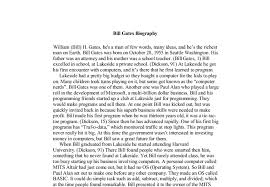 essay on bill gates   templateessay on bill gates
