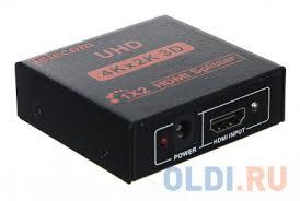 Разветвитель <b>HDMI</b> 1=2 <b>4k</b>@30 HZ <b>Telecom</b> TTS7000 — купить по ...