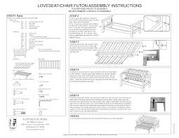 futon mattress for chair design assembling ikea chair