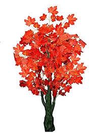 Buy Sofix Big <b>Artificial Maple Tree</b> Bonsai <b>Plant</b> Home Decorative ...
