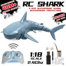 Mini RC Shark Remote Control <b>Toy</b> Swim <b>Toy</b> Underwater <b>RC Boat</b> ...