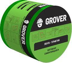 <b>Лента</b>-<b>герметик Grover битумная</b> зеленая 3м х 10см - купить в ...
