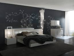 Simple Bedroom Wall Painting Bedroom Contemporary White Design Ideas With Gray Bed Wall Designs